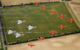 RIAT RAF100 Flypast
