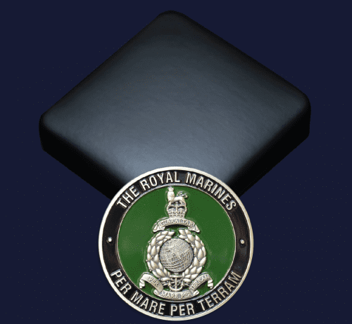 Royal Marines - Vetrun180 - Club Coins UK