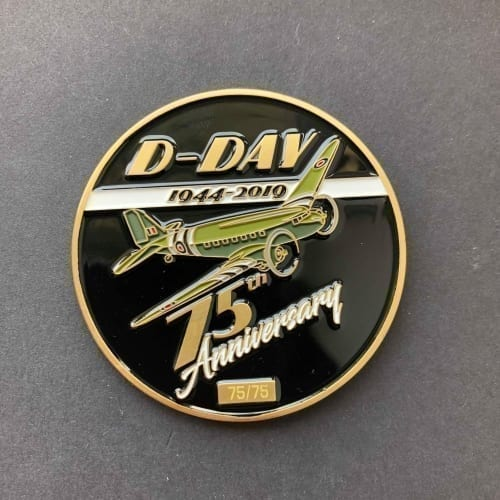 D-Day coin